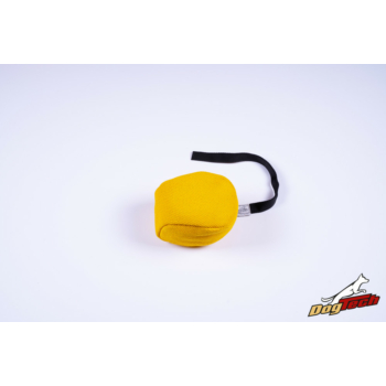 Dogtech francia labda sárga 14 cm átmérőjű