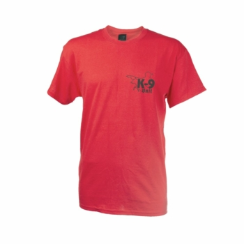 K-9® Póló - Unisex Piros