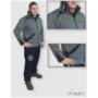 Kép 1/3 - HST Dogsport pulóver fekete/szürke férfi