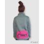 Kép 2/3 - HST Dogsport pulóver női szürke/narancs