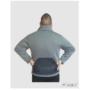 Kép 2/3 - HST Dogsport pulóver fekete/szürke férfi
