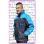 Kép 1/7 - HST kabát fekete/kék A minta