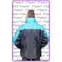 Kép 2/7 - HST kabát fekete/kék A minta
